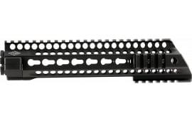 "Yankee Hill 5145 SLR Slant 9.5"" Specter Length Forearm AR-15 Quad Rail Keymod Aluminum Black Hard Coat Anodized"