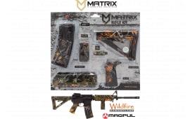 MDI MAGMIL42-WF Wildfire Camo Magpul MOE Kit Poly AR-15