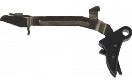 Polymer80 P80CPCTBLKBL Glock Gen1-4 Compatible Curved Trigger 6061-T6 Aluminum Black