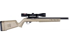 Magpul MAG548-FDE Hunter X-22 Stock Ruger 10/22 Reinforced Polymer Flat Dark Earth M-LOK Slots