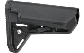 Magpul MAG653-BLK MOE SL-S Mil-Spec Carbine Buttstock AR-15/M16/M4 Reinforced Polymer Black Collapsible
