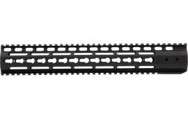 "Noveske 5000460 NHR Keymod Handguard 13.5"" Rail 6005A-T5 Aluminum Black Hard Coat Anodized"