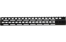 "Noveske 5000455 NSR Keymod Handguard 15"" 6005A-T6 Aluminum Black Hard Coat Anodized"