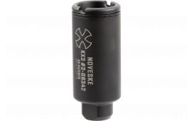 "Noveske 5000517 KX3 Flash Suppressor 5.56mm 1.35"" Dia 1/2x28 tpi Black Nitride"