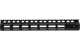 "Noveske 5001043 NSR M-Lok Handguard 13.5"" 6005A-T5 Aluminum Black Hard Coat Anodized"