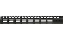"Noveske 5001044 NSR M-Lok Handguard 15"" 6005A-T5 Aluminum Black Hard Coat Anodized"