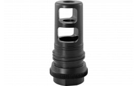 Advanced Armament 64244 90T Taper Muzzle Brake 5.56mm 1/2x28 tpi 17-4 Stainless Steel Black Nitride
