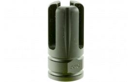 Advanced Armament 64740 Blackout Flash Hider Non-Silencer Mount 9mm Aerospace Alloy Standard