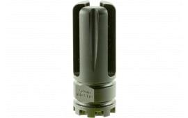 """Advanced Armament 64742 Blackout Flash Hider 7.62mm .750""""(7.62 Barrels) Aerospace Alloy .75""""-1.375"""""""