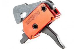 Patriot Ordnance Factory 00516 Trigger System Enhanced Finger Placement EFP Standard Steel AR Platform