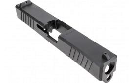 Polymer80 P80PS9CSTDDL G19 Gen 3 Compatible Slide 17-4 Stainless Steel Black PVD