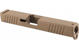 Polymer80 P80PS9V1DLCS G17 Gen 3 Compatible Slide 17-4 Stainless Steel FDE