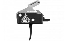 Rise Armament RA434BLK High Performance Trigger Steel/Aluminum Black Hardcoat Anodized 3.5 lbs