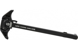 Geissele Automatics 05-313B Super Charging Handle AR Style 223 Remington/5.56 NATO 7075 T6 Aluminum Black Hardcoat Anodized