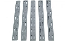 Bravo KMRRPWG5 BCM KeyMod Rail Panel Kit AR-15 5.56mm Polymer Wolf Gray
