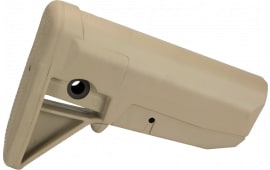 Bravo GFSMOD0FDE BCMGunfighter Stock Assembly Mod 0 Poylmer Flat Dark Earth