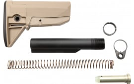 Bravo GFSKMOD0FDE BCMGunfighter AR-15 Mod 0 Stock Kit Polymer/Aluminum Flat Dark Earth