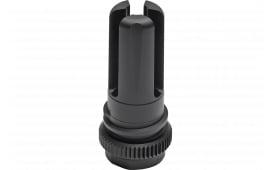 Advanced Armament 64141 Blackout Flash Hider 51T 5.56mm 1/2x28 tpi Aerospace Alloy Black Nitride