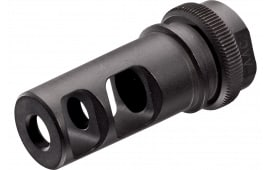 Advanced Armament 64178 Blackout 51T Muzzle Brake 7.62mm 5/8x24 tpi 17-4 Stainless Steel Black Nitride