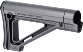Magpul MAG480-GRY MOE Mil-Spec AR-15 Carbine Stock Reinforced Polymer Gray