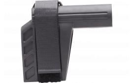 "SB Tactical SBXK-01-SB AR Brace SBXK Elasto-Polymer Black 6.2"" L x 1.5"" W"