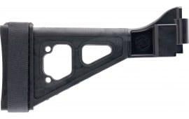 "SB Tactical SBT-01-SB Specialty Brace SBT B&T APC/HK UMP Elasto-Polymer Black 9.5"" L x 1.25"" W"