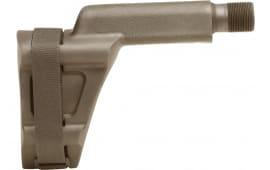 "SB Tactical VECT-02-SB Specialty Brace Kriss Vector PSB Elasto-Polymer FDE 8.7"" L x 2.6"" W"
