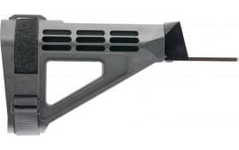 "SB Tactical SBM47-01-SB AK Brace SBM47 Elasto-Polymer Black 11.6"" L x 1.6"" W"