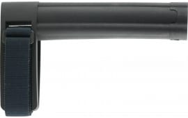 "SB Tactical SBL-01-SB AR Brace SBL 7.8"" L x 1.6"" W Elasto-Polymer Black"
