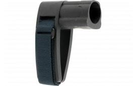 SB Tactical SBMINI-01-SB AR Brace Mini Elasto-Polymer Black with SBT Logo
