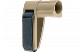 SB Tactical SBMINI02SB AR Brace Mini Elasto-Polymer FDE with SBT Logo