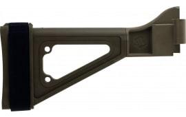 "SB Tactical SBTI-02-SB Specialty Brace SBTi B&T APC/HK UMP Elasto-Polymer FDE 10.5"" L x 1.25"" W"