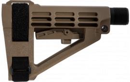 Sbtact SBA4 FDE SBA4 FDE w/6 POS Carbine EXT