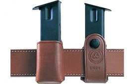 """Galco SMC26 Single Mag Case Snap 26 Fits Belts up to 1.75"""" Tan Leather"""