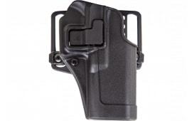 Blackhawk 410509BKR Serpa CQC Concealment RH Matte Finish 09 HK USP Compact 9/40 Polymer Black