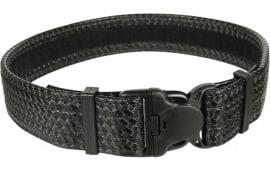Blackhawk 44B2LGBK Duty Belt Ergonomic 38-42 Cordura Nylon Black
