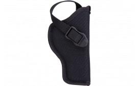 Blackhawk 73NH12BKR Hip Holster Right Hand Size 12 Black Nylon