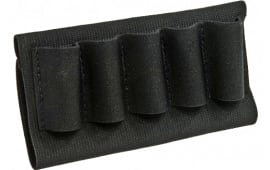 Blackhawk 74SH02BK Buttstock Cartridge Holder Shotgun Nylon Black