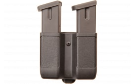 Blackhawk 410610PBK Double Mag Double Row 9mm/40 Cal/45 Cal/357Sig Adjustable Synthetic Black