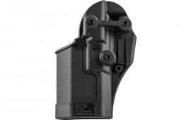 Blackhawk 410512BKR Serpa CQC Concealment RH Matte Finish 12 Ruger P95 Polymer Black