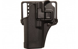 Blackhawk 410567BKL Serpa CQC Concealment Left Hand Matte Finish Glock 42 Polymer Black