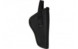 Bulldog DLX2 Pit Bull Revolver Hip Holster Size 02 Black Nylon