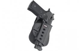 Fobus BRV Evolution Paddle Beretta Vertec; Taurus 92/99 w/Rail Plastic Black
