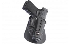 Fobus GL2E2RPL Roto Evolution Paddle Glock 17/19/22/23/34/35 Plastic Black