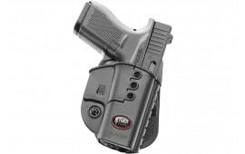 Fobus GL43ND Evolution Paddle Glock 43 Polymer Black