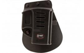 """Fobus GL26ND Evolution Paddle 3"""" Barrel Glock 26/27/33 Plastic Black"""