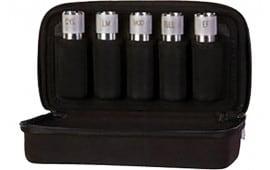 Carlsons 00400 Tube Case Any Standard Belt 1000D Nylon Black 5