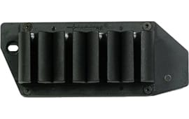 TacStar 1081140 SideSaddle #4 Shot Shotshell Carrier 12GA Benelli Nova Black Polymer/Aluminum