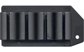 TacStar 1081168 SideSaddle #4 Shot Shotshell Carrier 12GA Rem 870/1100/11-87 Black Polymer/Aluminum