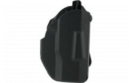 Safariland 7378450241 7378 ALS Paddle Sig P320 9/40 w/Light SafariSeven Black